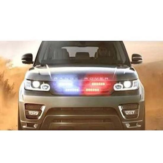 Picture of 24 LED WARNING GRILL LIGHTS RED BLUE