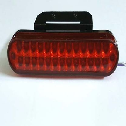 Picture of 26 LED RED REAR TAIL BRAKE LIGHT F1 STYLE