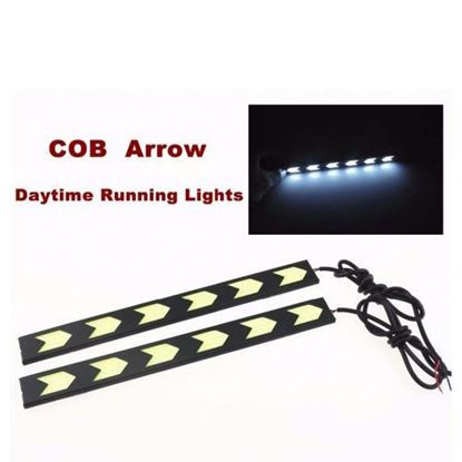 Picture of ARROW-SHAPED CAR XENON WHITE COB LED DRL WATERPROOF LIGHT
