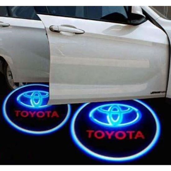 Picture of TOYOTA WELCOME PROJECTOR LAMP WITH LOGO (2PC/SET)