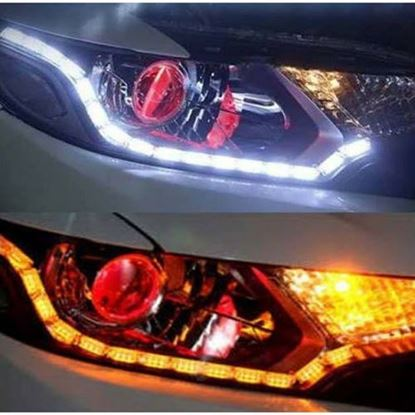Picture of SNAKE DRL FLEXIBLE CAR DUAL LED LIGHTS