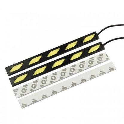 Picture of SLANTED SQUARE-SHAPED CAR XENON WHITE COB LED DRL WATERPROOF LIGHT