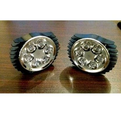 Picture of NEW 6 LED BLACK MULTIMODE SUPER BRIGHT LIGHTS (PAIR)
