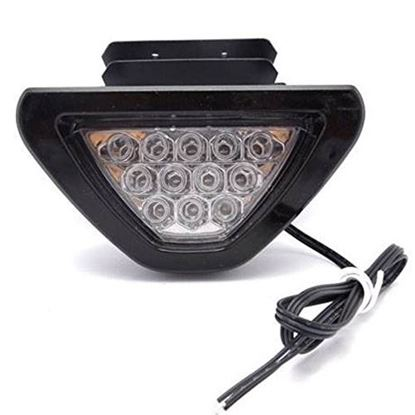 Picture of F1 STYLE 12 LED WHITE REAR TAIL BRAKE LIGHT
