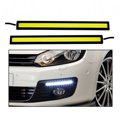 Picture of CAR XENON WHITE COB LED DRL WATERPROOF LIGHT