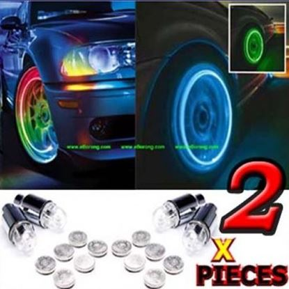 Picture of CAR TYRE LED LIGHT WITH MOTION SENSOR – SET OF 2