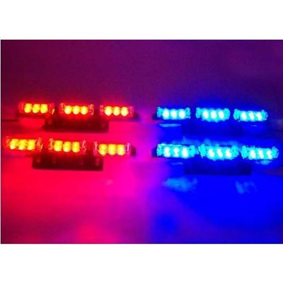 Picture of AUTO WARNING STROBE LED GRILL LIGHT