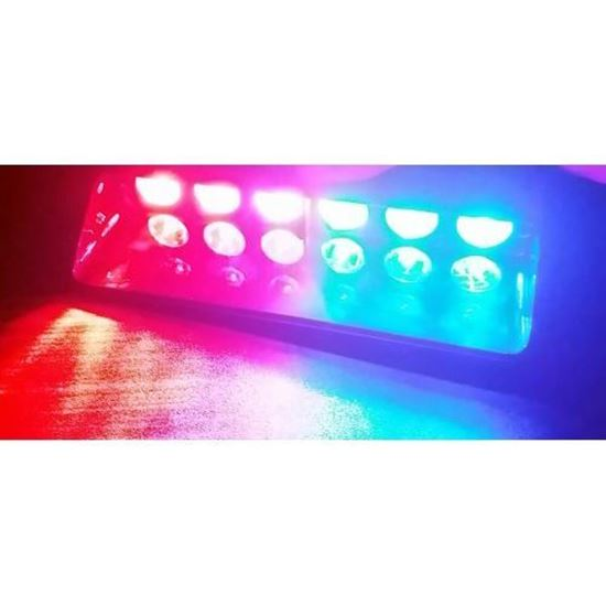 Picture of 6 LED STROBE LIGHT WINDSHIELD