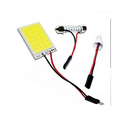 Picture of Car COB LED Dome/Roof Light White Color 6000K