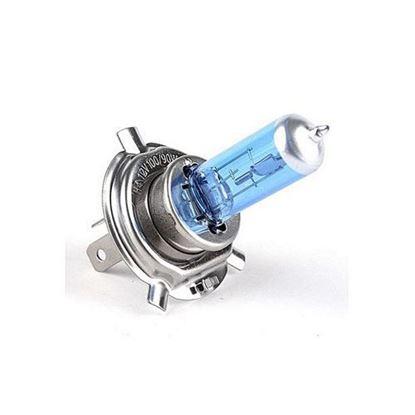 Picture of H4 Halogen Light Bright White Car Headlight Bulbs Bulb Lamp 12V