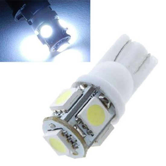 Picture of 5 SMD Parking Light Bulbs Pair - 12V - White
