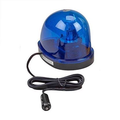 Picture of Car Emergency Light with Magnetic Mount - 12V - Blue