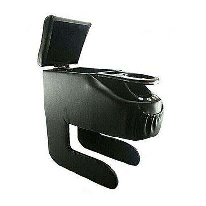 Picture of Multi-Console Leatherite Car Arm Rest Universal - Black
