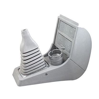 Picture of Suzuki Mehran Console Box with Carbon Fiber Cup Holder - Grey