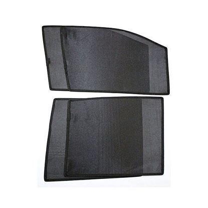 Picture of Car Sun Shades for Prius 2007 - 2012 - 4 Pcs - Black