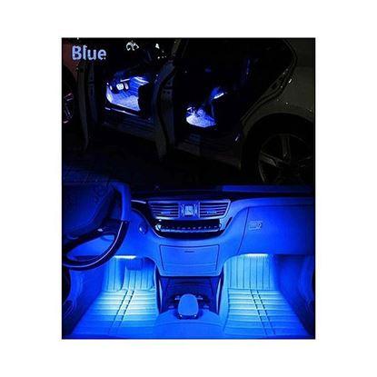 Picture of Car Interior Atmosphere Remote Control Light Decor Lamp