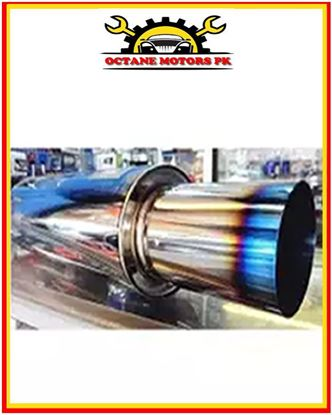 Picture of HKS Jasma Approved Muffler Exhaust 4inch Outlet For 1500cc to 3000cc Car