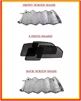Picture of Suzuki Swift Pack Of 3 - Sunshades, Front Screen Shade & Back Screen Shade