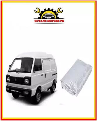 Picture of Car Top Cover for Suzuki Bolan - Carry Daba - Silver - Parachute