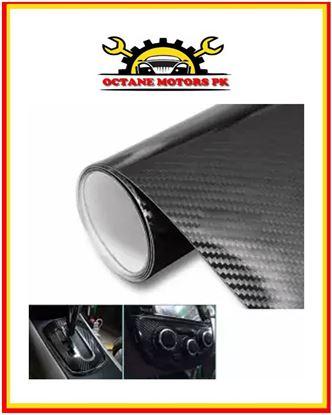 Picture of 100x12Inch 3D Carbon Fiber Vinyl Car DIY Wrap Sheet Roll Film Car Sticker DIY