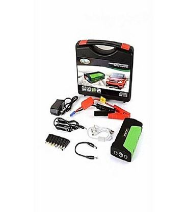 Picture of Jumper Starter Kit With 19800 Mah Led Power Bank - Black